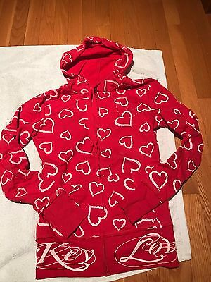 Pre-Owned Girls Vanity Long Sleeve Zip-Up Size Small