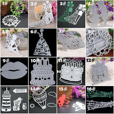 Metal Cutting Dies Stencil Scrapbook Paper Card Craft Embossing DIY Die Cut Tool
