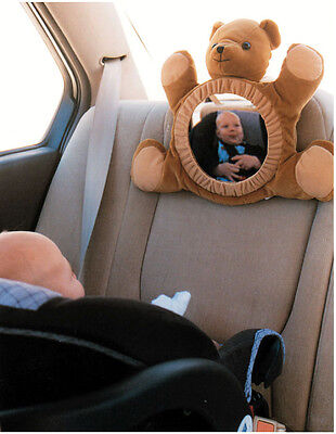 Baby Adore A View Rear Facing Car Mirror Back Seat Infant Safety Teddy Bear