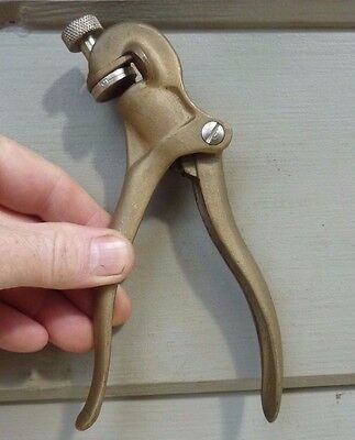ECLIPSE No. 77 Saw Tooth Set Pliers Tool Carpenter old tool England