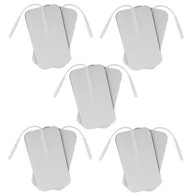 10pcs Reusable Electrode Pad for Tens Machines Digital Therapy Massager Unit