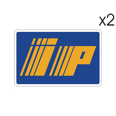 Stickers plastifiés IP - Aprilia - 12cm x 8cm