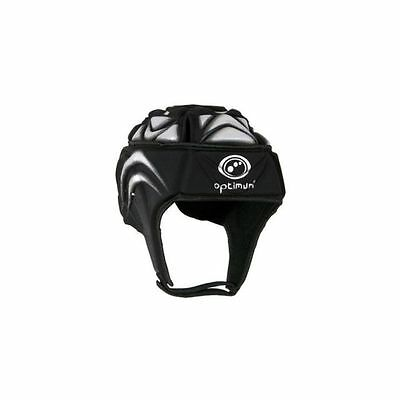 Optimum Extreme Rugby Headguard (Black/Silver)
