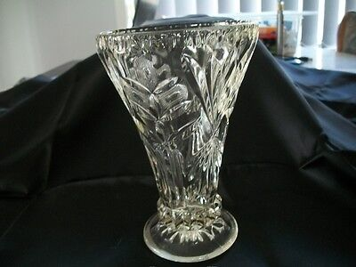 Vintage/Antique crystal/glass Vase