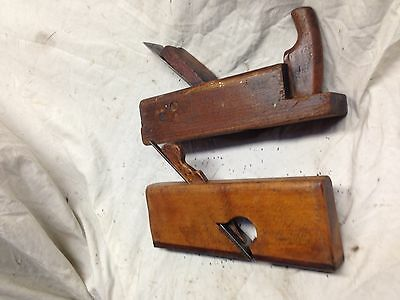 Vintage Marples Wood  Plane  & Second Plane  Both Look In Useable Order