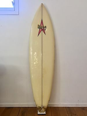 Vintage 1970's Byrne Single Fin Surfboard Designs