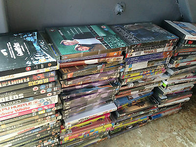 Used DVD Wholesale clearance joblot (180 DVDS)