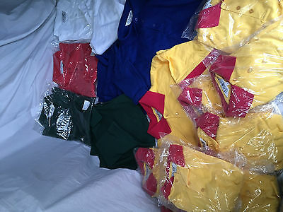 New 20 Trackman polo shirts assorted colours itemised job lot CL191216E