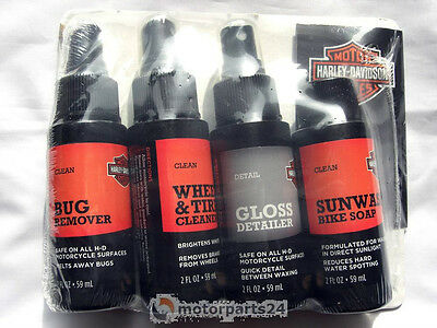Harley Davidson Care Travel Set Motorcycle Cleanser Cleaner 93600106