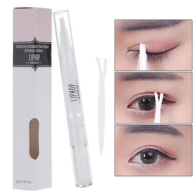 Invisible Instant Clear Double Eyelid Maker Glue Women Eye Makeup Beauty Tool