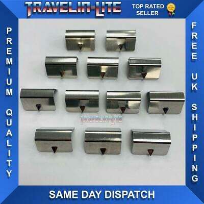 Wind Deflector Clips For Heko / Aftermarket Great Quality 12pcs Brand New