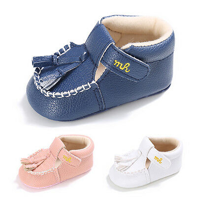 Newest Baby Toddler Shoes Baby Boy Girl Soft Sole Anti-slip Tassel Infant Shoes