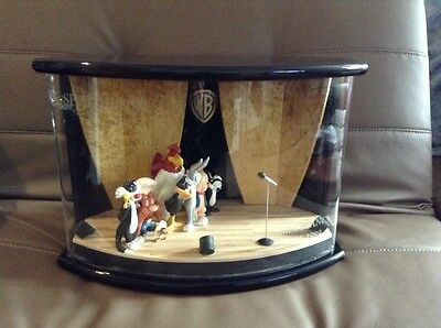 Warner Brothers Speechless Stage Diorama #12 Of Only 250 Extremely Rare!