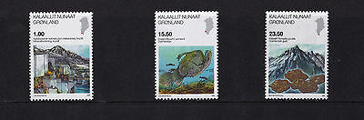 Greenland - 2009 Science - U/M - SG 586-88