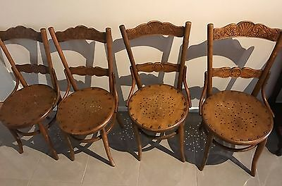 Antique Chairs - Set of Four Luterma Estonia Chairs