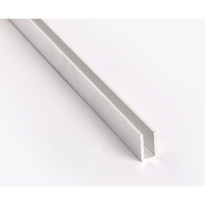 Aluminium C,U Channel  Profile Various Size Free Cut Service