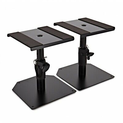 Desktop Monitor Speaker Stands by Gear4music Pair