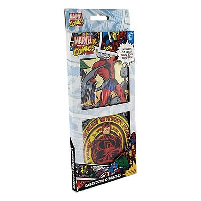 Officially Licensed Marvel Comics Character Drinks Coasters