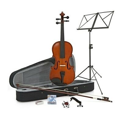 Student Plus 3/4 Violin + Accessory Pack by Gear4Music