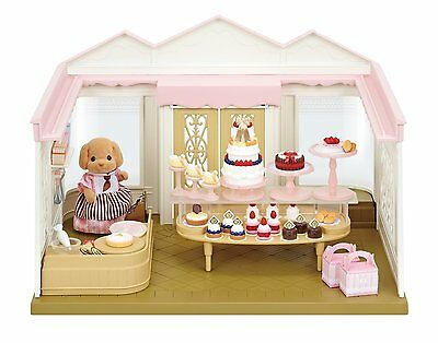 New!! Epoch Sylvanian Families Patissier Village Cake Shop Set from Japan Import
