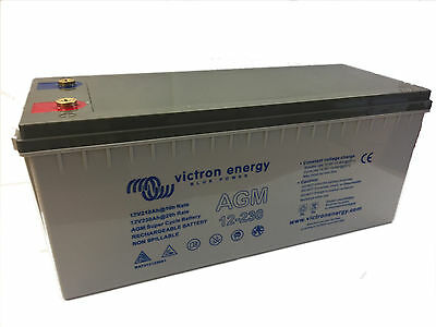 Victron Near Immortal Super Cycle AGM 12V 100 to 230 Ah Battery FREE UK DELIVERY