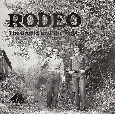 Rodeo The Orchid and the Rose Rare C&W duo Vinyl Single EP 1979