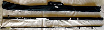 "Fladen Fight ""Unbreakable"" 1.95m Boat Sea Rod 6' 6"" Fishing 30-50lbs 2 Section"