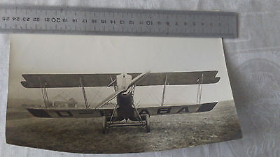 Photo Avion 1GM WW1 WWI à identifier Aviation Aéronautique TBE