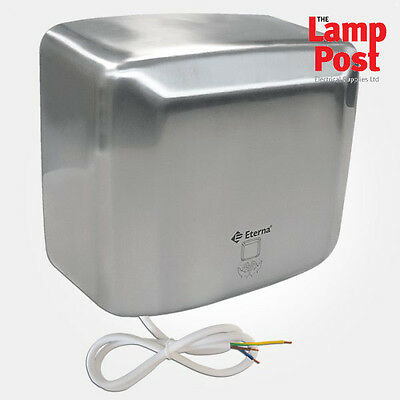 Eterna SSHDA-2500 Stainless Steel 2.5kW Automatic High Performance Hand Dryer
