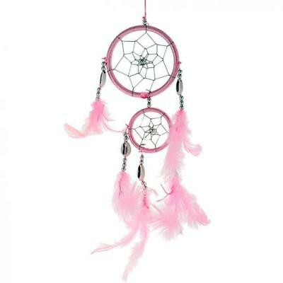 Traditional Blue Dream Catcher with Feathers Wall Car Hanging Ornament 13""