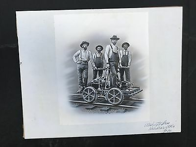 Production Artwork - Handcar 1880's
