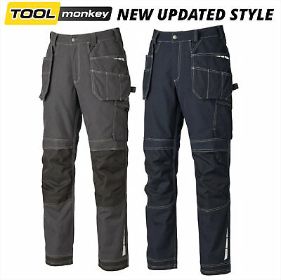 Dickies Pro Work Trade Trousers Eisenhower Extreme Black or Grey New for 2017