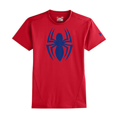 Under Armour HeatGear Mens Alter Ego Compression Short Sleeve Top - Spiderman -