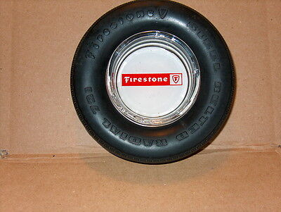 Firestone Tires Tire Ash Tray with a spare tire!