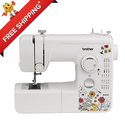 Heavy Electric Sewing Machine BROTHER Portable Embroidery Tailoring Lightweight