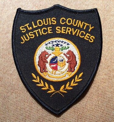MO St. Louis County Missouri Justice Services Patch