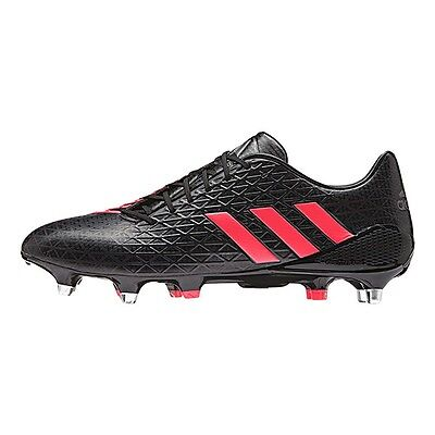 Adidas AW16 Predator Malice SG Rugby Boots - Black/Shock Red