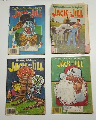 Lot of 1978 Jack and Jill Magazines
