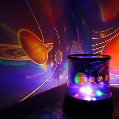 Children Calming Autism Sensory LED Light Projector Relax Planet Projector lamp