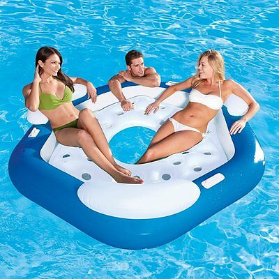 43111 Bestway Island inflatable 3 seats with letterbox central for sea 0,5