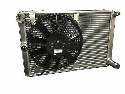 Triumph Dolomite Radiator with fan & switch