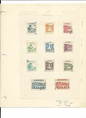 Colombia Collection, Nice Variety to Pick Through, 25 Pages