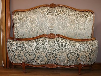 French Corbeille Double Bed in Louis XVI Style including beech sprung base