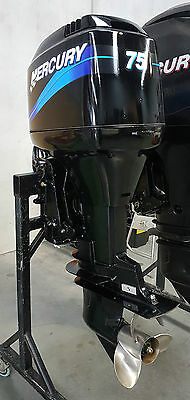 Mercury 75hp Outboard Engine Ready to Go! Motor Mariner Yamaha 90 70 Complete