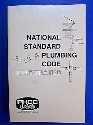1984 PHCC National Standard Plumbing Code Illustrated SC Book