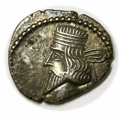 KINGS of PARTHIA. Vologases III. Circa AD 105-147. AR Drachm (19mm, 3.33g)