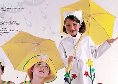 New Lot of 12 Theatrical Dance umbrellas Costume Yellow Parasols stage prop