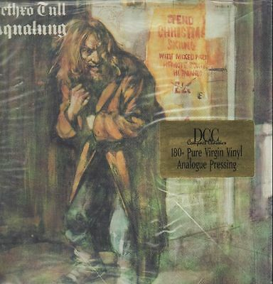 LP Jethro Tull Aqualung STILL SEALED 180 GRAM NEW OVP Dcc Compact Classics