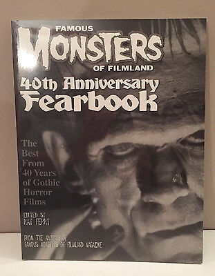 Famous Monsters Of Filmland  40Th Anniversary  Fearbook  1998