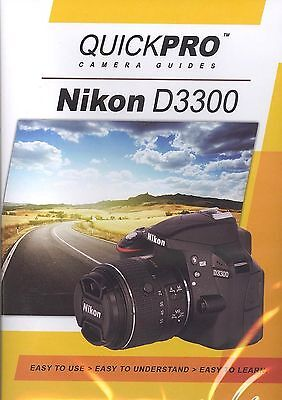 Nikon D3300 by QuickPro Camera Guides ( 1-1/2 Hour Tutorial DVD)